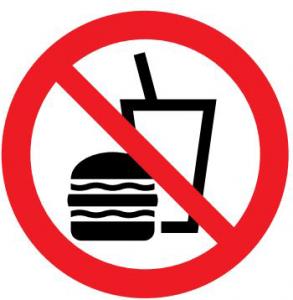 飲食禁止マーク2
