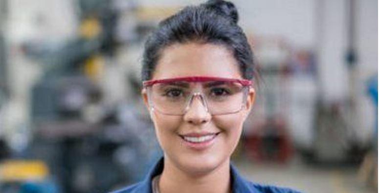 眼の保護具(保護メガネ等)の正しい選び方、使い方 【図解】