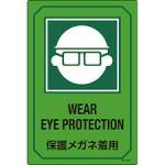 保護メガネ 着用
