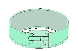 伸縮素材を巻きつけるタイプ